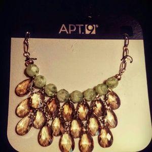 Apt 9 Crystal Dangle Statement Necklace